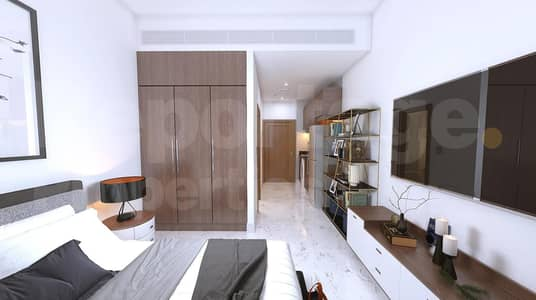 Studio for Sale in Downtown Jebel Ali, Dubai - Italian furnished studio  hand over Q4(2022)