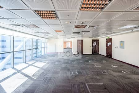 Floor for Sale in Jumeirah Lake Towers (JLT), Dubai - Fully Fitted | Balcony | Vacant | 6 Parking
