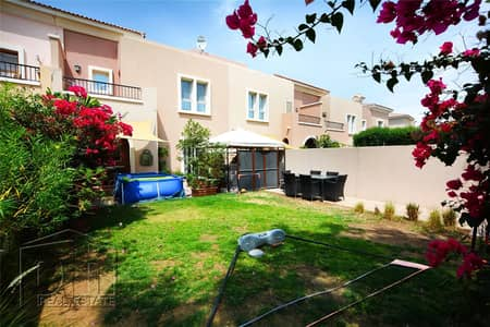 3 Bedroom Townhouse for Rent in Arabian Ranches, Dubai - Gorgeous Garden   3M   Well Maintained