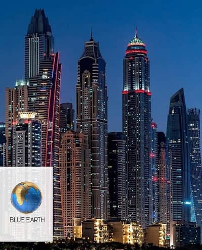بنتهاوس 4 غرف نوم للبيع في دبي مارينا، دبي - Luxurious 4 BHK Penthouse with Amazing View in Super Tall Sky Scraper