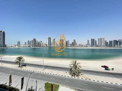 فلیٹ 3 غرف نوم للايجار في الخان، الشارقة - BRAND NEW!!! Luxurious 3bhk with high class finishing  in water front Maryam island