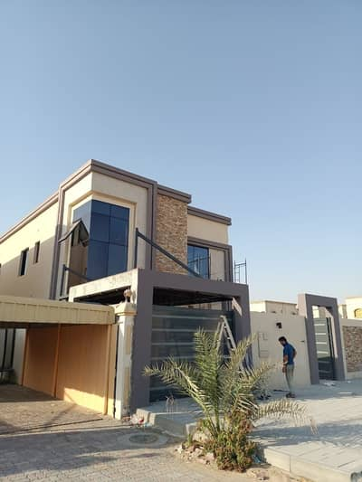5 Bedroom Villa for Sale in Al Rawda, Ajman - BRAND NEW VILLA FOR SALE IN AJMAN Al rawda  5 BEDROOM MAJLIS HALL KITCHEN WITH CAR PARKING VERY SPECIAL LOCATION