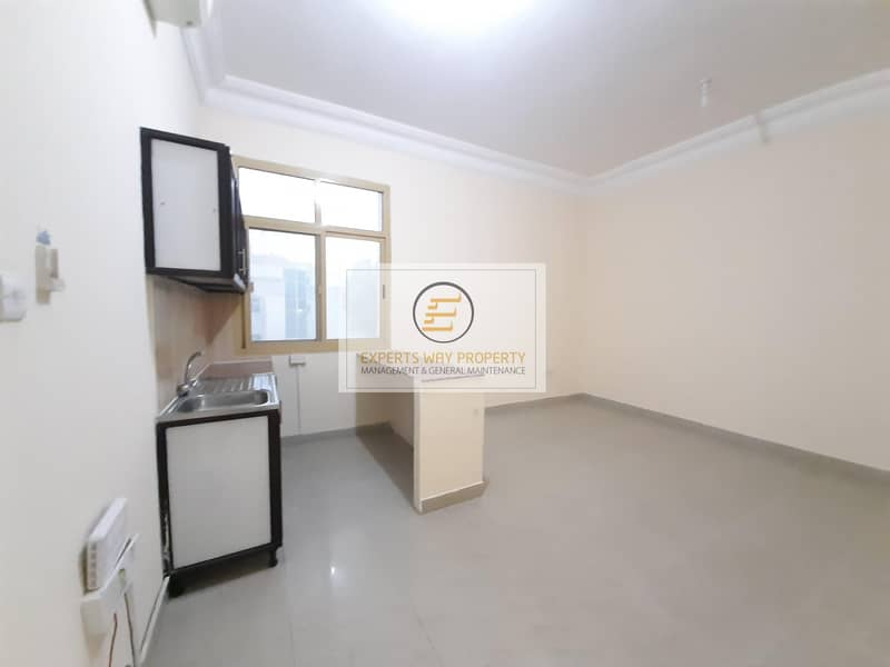 2 European stylish studio 2300 Monthly available for rent in khalifa A