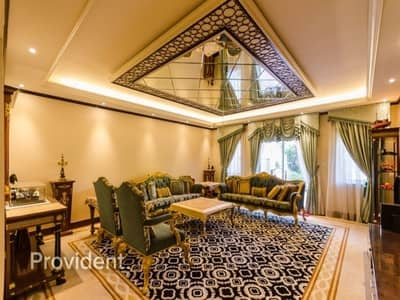 5 Bedroom Villa for Sale in Dubai Festival City, Dubai - Enhanced Al Badia Triplex Villa -Freehold