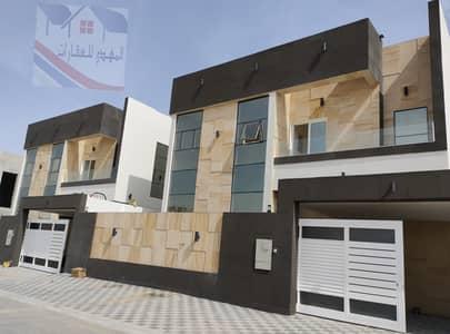 4 Bedroom Villa for Sale in Al Yasmeen, Ajman - Al-Thuraya area opposite Al-Rahmaniyah, luxurious design, security and sophistication, super deluxe villa finishes