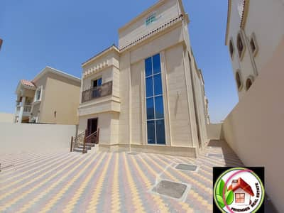 4 Bedroom Villa for Sale in Al Yasmeen, Ajman - For sale, a new stone villa, in a great location, close to all services