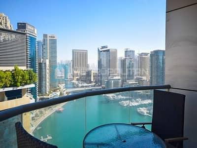 فلیٹ 2 غرفة نوم للبيع في دبي مارينا، دبي - Rented I Full Marina View I Investment Deal