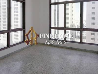 شقة 2 غرفة نوم للايجار في الخالدية، أبوظبي - Relaxing City View I 2 BR with Close Kitchen