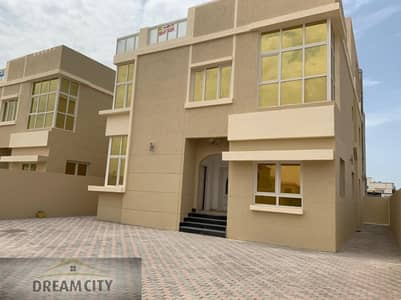 5 Bedroom Villa for Sale in Al Rawda, Ajman - Villa for sale without down payment Free ownership of all nationalities from the owner directly on a neighboring street directly Super Deluxe finishing of the best materials