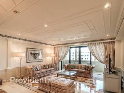 تاون هاوس 3 غرف نوم للبيع في قرية التراث، دبي - Fully Furnished Duplex - Private pool