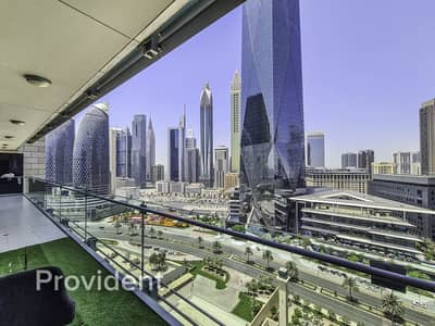 2 Bedroom Flat for Rent in DIFC, Dubai - Fully Furnished | Simplex | Rare Unit