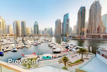2 Bedroom Villa for Sale in Dubai Marina, Dubai - Full Marina View   2BR Duplex Villa   Vacant Unit