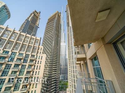 شقة 1 غرفة نوم للبيع في وسط مدينة دبي، دبي - Luxurious | Lovely View | Study Room