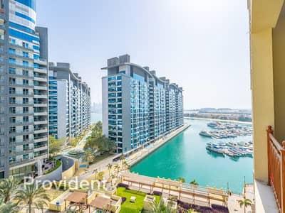 فلیٹ 2 غرفة نوم للايجار في نخلة جميرا، دبي - Upgraded | Vacant Soon | High Floor