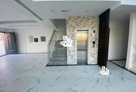 4 Bedroom Villa for Sale in Jumeirah Village Circle (JVC), Dubai - Spacious luxury 4BR TH| Private Elevator | Garden