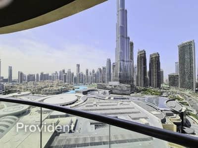 فلیٹ 3 غرف نوم للايجار في وسط مدينة دبي، دبي - Full Burj Khalifa View   Luxury Living 3 Bed