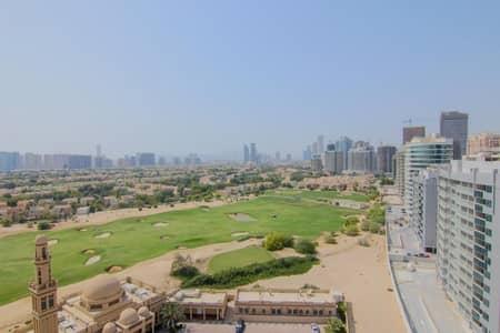 شقة 3 غرف نوم للبيع في مدينة دبي الرياضية، دبي - Duplex 3 bed | Golf course view | Royal Residence