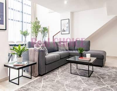فلیٹ 2 غرفة نوم للبيع في قرية جميرا الدائرية، دبي - Duplex | 2 Bed | Fully Furnished | High Floor