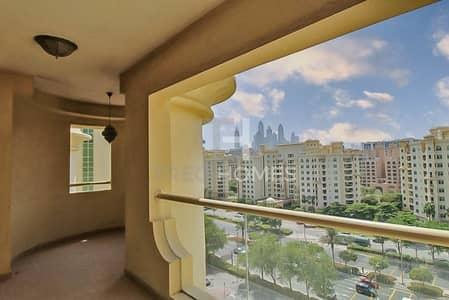 فلیٹ 2 غرفة نوم للايجار في نخلة جميرا، دبي - Community View   Beach Access   High Floor