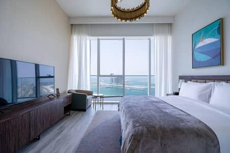 شقة 1 غرفة نوم للايجار في مدينة دبي للإعلام، دبي - Panoramic View of the Palm | New Hotel Apartment