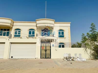 4 Bedroom Villa for Rent in Mohammed Bin Zayed City, Abu Dhabi - private entrance villa deluxe with yard 4 masters bedroom central AC