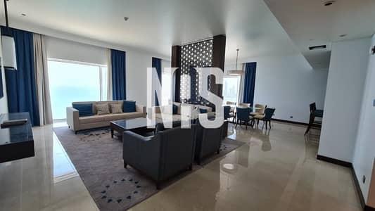فلیٹ 4 غرف نوم للبيع في مارينا، أبوظبي - Luxury and Fully Furnished Apartment + Maid's room