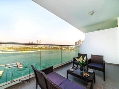 فلیٹ 1 غرفة نوم للايجار في نخلة جميرا، دبي - Vacant | Pool