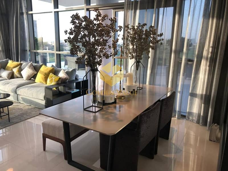 10 All season used terrace apartment with golf view