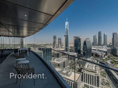 04 Series | Big Terrace with full Burj View
