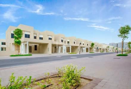 3 Bedroom Villa for Sale in Town Square, Dubai - SINGLE  ROW | NEAR THE  POOL|EXCLUSIVE  UNIT!!!
