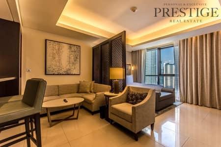 استوديو  للبيع في وسط مدينة دبي، دبي - Luxury Studio   the address Downtown   Sale