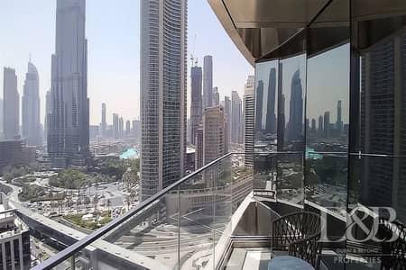 فلیٹ 3 غرف نوم للبيع في وسط مدينة دبي، دبي - VACANT | EMAAR | LUXURIOUS | CORNER UNIT