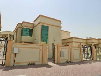 For rent villa in Ajman in Al Hamaydah, first inhabitant, super deluxe fini