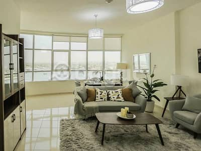 1 Bedroom Apartment for Sale in Al Bustan, Ajman - Brand new apartment ready to move for Sale In Ajman Orient Tower with all the Facilities