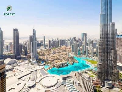 4 Bedroom Hotel Apartment for Sale in Downtown Dubai, Dubai - Full Burj Khalifa And Fountain View   High Floor