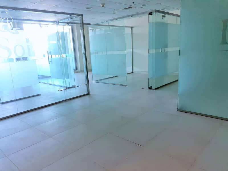 Chiller free office with balcony in Armada-2 JLT