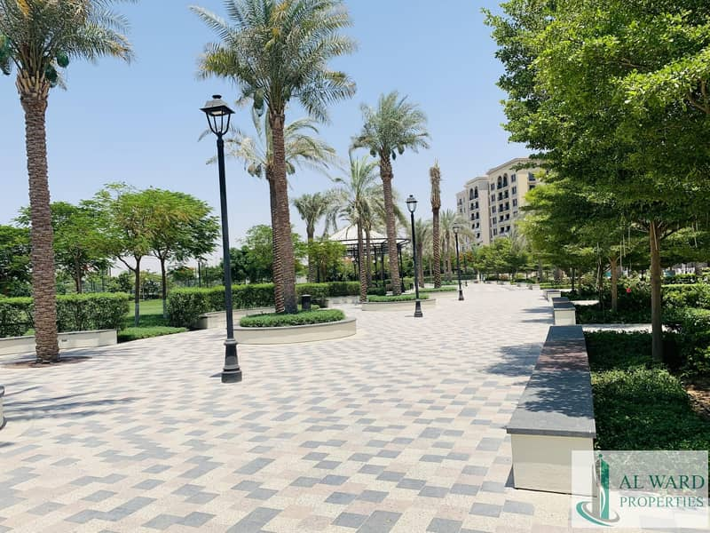 2 surrounded by beautifully landscaped recreational areas