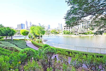 1 Bedroom Apartment for Rent in The Views, Dubai - Ground Floor | Furnished | Lake Views |