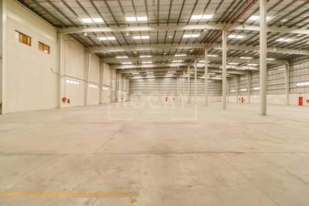 Warehouse for Rent in Dubai Investment Park (DIP), Dubai - Semi-Fitted Warehouse | with Pantry | DIP 2