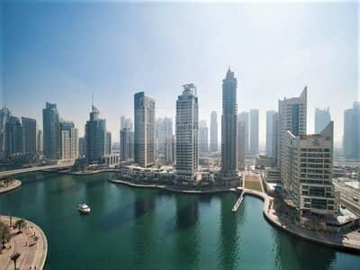1 Bedroom Apartment for Sale in Dubai Marina, Dubai - Exclusive Rear Unit   Full Marina View   Rented
