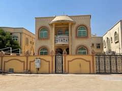 Amazing Offer 6-Bedroom Villa just 75k 5000 sqft ,6 master rooms + Hall + Majlis +maid room for rent in Al Rawdha 3  Ajman