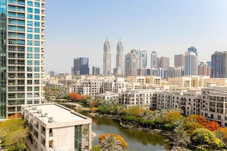 فلیٹ 2 غرفة نوم للايجار في ذا فيوز، دبي - Upgraded kitchen | Golf views | Spacious