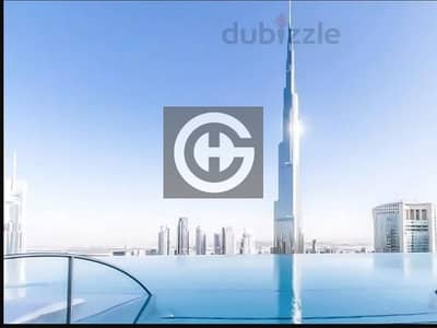 3BR with Full Burj View  | Corner Unit | 04 layout