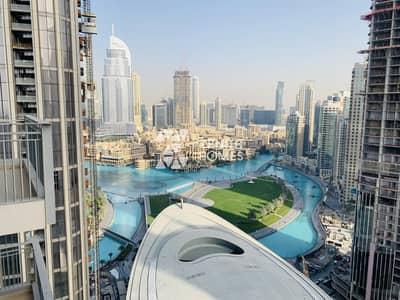 فلیٹ 1 غرفة نوم للبيع في وسط مدينة دبي، دبي - Spacious 1Br | High Floor | Fountain View |