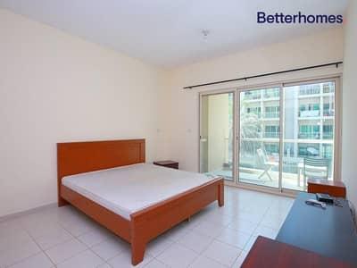استوديو  للايجار في الروضة، دبي - Semi Furnished   Vacant   1st Flr  Community view
