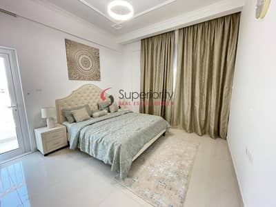 1 Bedroom Apartment for Rent in Arjan, Dubai - Low floor   Fully Furnished   With Parking   1Bedroom