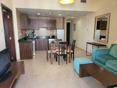 1 Bedroom Flat for Rent in Dubai Sports City, Dubai - LUXURY FULLY FURNISHED| 1 B/R W/BALCONY | READY TO MOVE