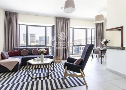 شقة 1 غرفة نوم للايجار في وسط مدينة دبي، دبي - Furnished 1BR | Chiller Free | Ready to Move