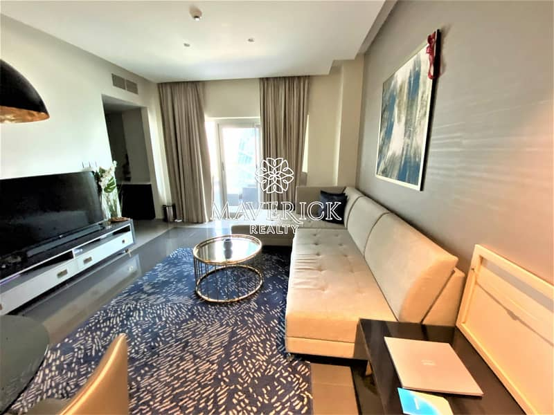 Exclusive! Canal View | Furnished 1BR | 4 Cheques