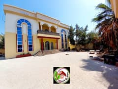 For lovers of large spaces for sale, a villa with electricity and water, a large area and a great location
